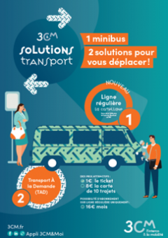 Affiche Solutions Transport 3CM