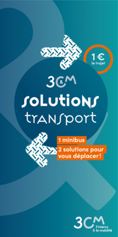 Plaquette Solutions Transport 3CM